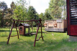 Ubytování v chatkách a maringotkách, Kemp Řevnice u Berounky